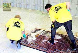 Durch Antikwäsche wird eine Teppichwäsche den Teppich nicht beschädigen