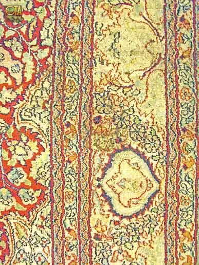 Branschaden an einem Teppich ist meist eine Sache der Versicherung