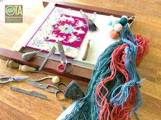 Werkzeuge für den Teppichknüpfer und Teppichreparatur nach alter Tradition