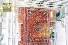 Nach einer Teppichreinigung trocknen die Teppiche im Trockenraum