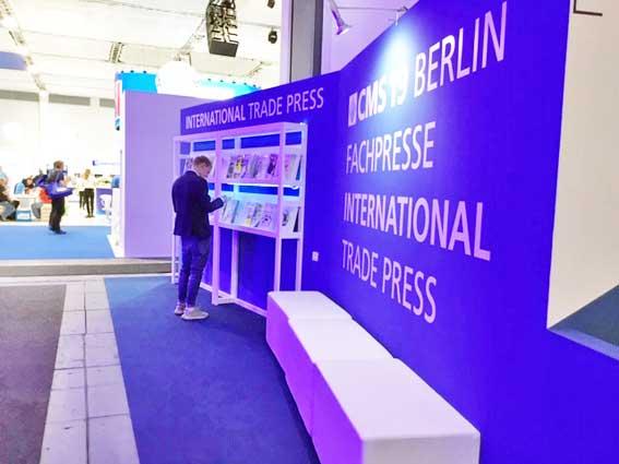 Teilnahme an CMS Berlin, September 2019