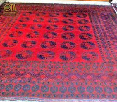 Man muss den afghanischen Teppich kürzen